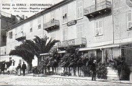CPA ITALIE - PORTOMAURIZIO - HOTEL DE FRANCE - GARAGE ... - Italy