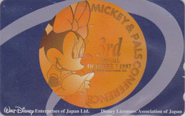 Télécarte NEUVE Japon / 110-193965 - DISNEY ENTERPRISES - MICKEY & PALS - MINNIE - Japan MINT Phonecard - Disney