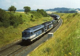 RU 1088 - Train - Loco BB 67554 Vers RANDAN - Puy De Dôme - SNCF - France