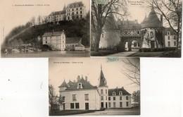 MONTBAZON ( 37 ) - Chateau Du Puy, 3 Cpa - Montbazon