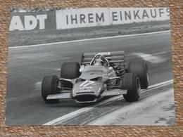 Rare!  Belle Photo Ancienne Voiture Ancienne Emerson Fittipaldi Tampon Photographe Course! F1 - Automobili