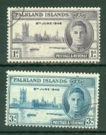 Falkland Is: 1946   Victory    Used - Falkland Islands