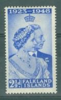 Falkland Is: 1948   Royal Silver Wedding   SG166    2½d      MH - Falkland Islands