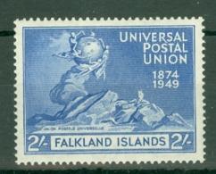 Falkland Is: 1949   U.P.U.   SG171   2/-   MH - Falkland Islands