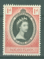 Falkland Is: 1953   Coronation       MH - Falkland Islands