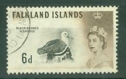 Falkland Is: 1960/66   QE II - Birds   SG200    6d      Used - Falkland Islands