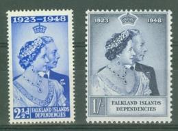 Falkland Islands Dep: 1948   Royal Silver Wedding       MNH - Falkland Islands
