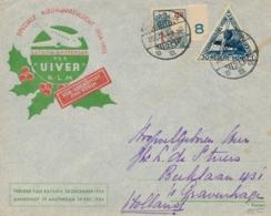 Nederlands Indië - 1934 - SCVT Uiver-cover Verzonden Per IJsvogel (ivm Uivercrash) Van Soerabaja Naar Den Haag - Nederlands-Indië