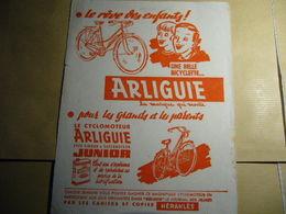 1 Buvard Bicyclette Et Cyclomoteur ARLIGUIE - Moto & Vélo