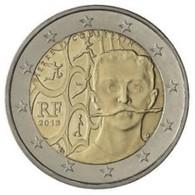 Frankrijk  2013    2 Euro Commemo   Coubertin   UNC Uit De Rol  UNC Du Rouleaux  !! - France