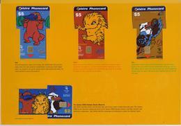 AUSTRALIA  PHONECARDS 1999/SYDNEY OLYMPIC GAMES/MASCOT OF OLYMPIC GAMES-5000pcs-MINT IN FOLDER - Australie