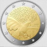 Frankrijk  2015    2 Euro Commemo  70 Jaar Vrede In Europa / Paix D'Europe   UNC Uit De Rol  UNC Du Rouleaux  !! - Francia
