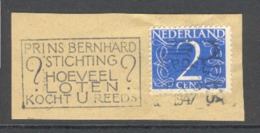 Nederland 1947, Stempelvlag Prins Bernhard Stichting - Postal History