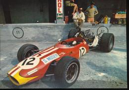 """Monza """" Gran Premio D'Italia F1 1968 """"  Brabham Repco    F 1 - 1968 Di Siulvio Moser - Grand Prix / F1"""