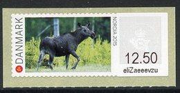 DENMARK / DANEMARK (2015) - ATM NORDIA 2015 - Cow Elk, Alces Alces, élan, Ante - Vignette Di Affrancatura (ATM/Frama)
