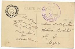 ISERE CP 1915 CONVOYEUR LA ROCHETTE A PONTCHARRA FM HOPITAL BENEVOLE PONCHARRA ISERE - 1877-1920: Période Semi Moderne