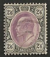 Transvaal 1902. 2s6d Magenta And Black (wmk CA). SACC 259, SG 253. - Südafrika (...-1961)