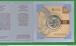 10000 Lire 1996 X 50 °Proclamazione Repubblica  Repubblica Italiana - Commemorative