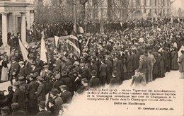 TROYES ( 10 ) - Défilé De 20000 Manifestants Vignerons . - Troyes