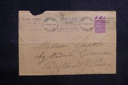 FRANCE - Type Semeuse 75ct Sur Enveloppe De Chartres Pour Perros Guirec En 1932 - L 38654 - Storia Postale