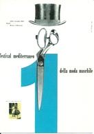Napoli 1953, 1° Festival Mediterraneo Moda Maschile, Riproduzione C16, Reproduction, Illustrazione - Esposizioni