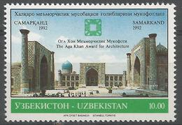 UZ 1992- MOSQUE, UZBEKISTAN, 1 X 1v, MNH - Islam