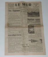 Le Mur D'Auvergne Du 16 Décembre 1944. - Français