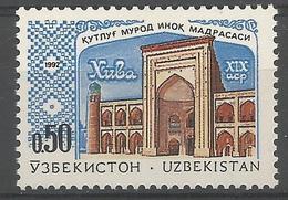 UZ 1992- MOSQUE, UZBEKISTAN, 1 X 1v, MNH - Usbekistan