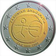 Griekenland 2009    2 Euro Commemo  EMU   UNC Uit De Rol  UNC Du Rouleaux  !! - Grèce
