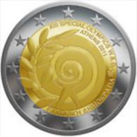 Griekenland 2011    2 Euro Commemo  Special Olympics  UNC Uit De Rol  UNC Du Rouleaux  !! - Grèce