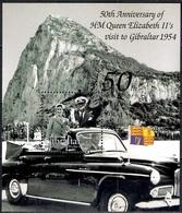 Gibraltar 2004 - The 50th Anniversary Of H.M Queen Elizabeth II's Visit To Gibraltar - Gibraltar
