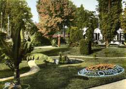 CPSM Grand Format MONTARGIS (Loiret) Le Jardin Durzy Colorisée   RV Edit Cie Des Arts Photographiques - Montargis