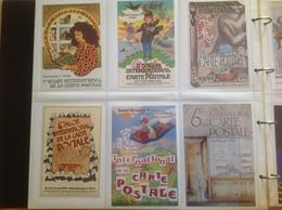 23 Cpm Salon De La Carte Postale à L'hôtel Georges V - Borse E Saloni Del Collezionismo
