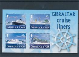 Gibraltar 2005 - Cruise Liners Mint - Gibraltar