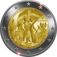 Griekenland 2013    2 Euro Commemo   Kreta    UNC Uit De Rol  UNC Du Rouleaux  !! - Grèce