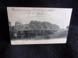 Auvers - Sur - Oise.Le Pont. Avant 1903.Voir 2 Scans . - Auvers Sur Oise