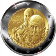 Griekenland 2014    2 Euro Commemo   El Greco   UNC Uit De Rol  UNC Du Rouleaux  !! - Grèce