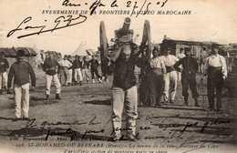 MILITARIA - 22  2 - Événements De La Frontière Algéro- Marocaine. Homme Portant Un Canon. - Sonstige
