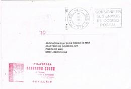 33627. Carta SEVILLA 1998. Sin Franqueo TASADA, Taxa 70 Pts - 1931-Hoy: 2ª República - ... Juan Carlos I