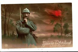 CPA - Carte Postale-Militaria- Souvenir D'un Artilleur En 1916 VM5483 - War 1914-18