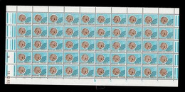 Preobliteres - YV 128 N** Luxe En Bloc De 50 (plié Au Centre) Avec Coin Daté 19.12.63 Cote 50+ Euros - 1964-1988