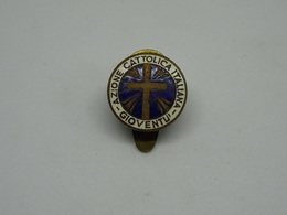 Distintivo Azione Cattolica Italiana Gioventù - SAF - Stabilimento Artistici Fiorentini - Italy