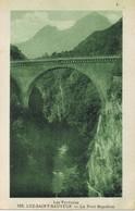 33631. Postal LUZ SAINT SAVEUR (hautes Pyrenées). Le Pont NAPOLEON - Luz Saint Sauveur