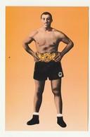 Cartolina Postale PRIMO CARNERA - IL GIGANTE DI SEQUALS - New Work - 29/06/33 - Personalità Sportive