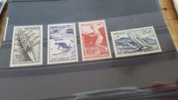 LOT 466508 TIMBRE DE MONACO NEUF** LUXE N°32 A 35 - Airmail