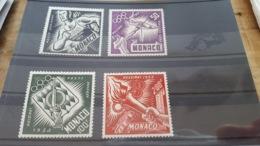 LOT 466513 TIMBRE DE MONACO NEUF** LUXE N°51 A 54 - Airmail