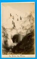 Chamonix Vers 1880 * Glacier Et Grotte Des Bossons * Photo Albumine Joseph Tairraz - Voir Scans - Photographs