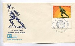 75° ANIVERSARIO FEDERACION AGRARIA ARGENTINA. ARGENTINA 1987 TARJETA DIA DE EMISION FDC CARD - LILHU - Agricultura