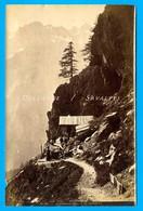 Chamonix Vers 1870 * Cabane Du Chapeau *  Photo Albumine Garcin - Voir Scans - Photographs