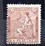 Sello Nº 139  España - Nuevos